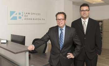 Attorneys from The Law Office of Adam Baron